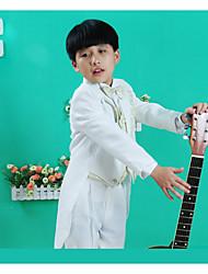 Хлопок Детский праздничный костюм - 5 Куски Включает в себя Куртка Брюки Жилет Рубашка Бабочка