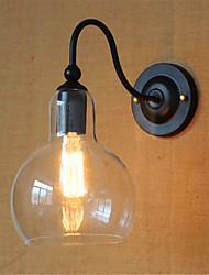 ac 110-130 / ac 220-240 / contemporânea recurso acabamento 40w e26 / e27 moderna óxido de preto para braço oscilante / lâmpada incluída,