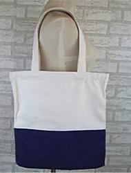 Women Shoulder Bag Canvas Casual Outdoor White