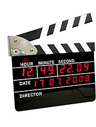 Creative Movie Clappers Simple Electronic LED Alarm Clock