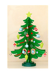 Medium-Sized Wooden Christmas Decorations Christmas Tree
