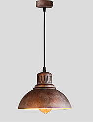 21cm Max 60W Vintage Simple Loft mini Pendant Lights Metal Dining Room Kitchen Bar Cafe Hallway Balcony Light Fixture
