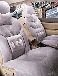 court tapis de voiture en peluche tapis de laine siège auto coussin