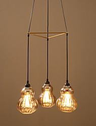 Industrial Fashion Wind Glass Chandelier
