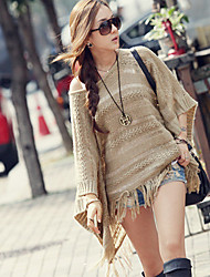 Women Polyester Scarf,Casual RectangleSolid