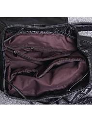 Damen PVC Alltag Rucksack