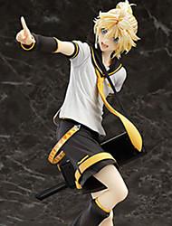 Cosplay Kagamine Len PVC 22cm Las figuras de acción del anime Juegos de construcción muñeca de juguete