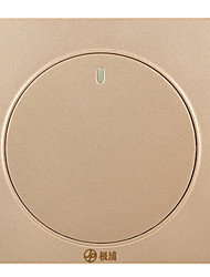 A Double Control With The Switch Socket Open Into The Wall