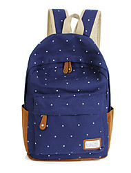 Unisex Polyester Sports / Casual / Outdoor Backpack Black