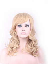 Blonde Hair Wigs Natural Cheap Hair Wig Perucas Perruque Synthetic Women Curly Pelucas Sinteticas Hair Style