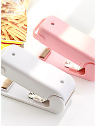 Easy Use Heat Sealing Machine Keep Food Fresh Mini With Battery5# (Random Colours)