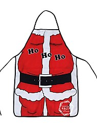 Christmas Decoration Santa Claus Apron Whimsy Novelty Gift For Kitchen Apron Santa Sacks Navidad Natal