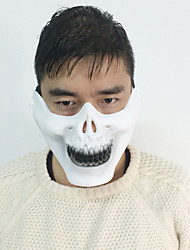 1pc das Emirat Skelett-Maske für Halloween-Kostüm-Party