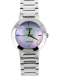 Women's Fashion Watch Quartz Water Resistant/Water Proof / / Stainless Steel Band Casual Silver Brand