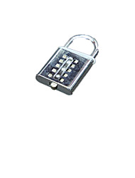 Alloy 40mm Ten Password Padlock File Cabinet Drawer Lock Blind Number Digital Key Lock