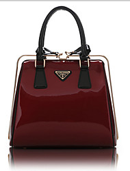 Women Patent Leather Formal / Office & Career Tote