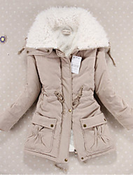 10 Colors New Women's Winter Jacket Women Cotton Candy Color Parkas Jackets Winter Hooded Jacket Fashion Girls Padded Slim Long Coat Jackets Plus Size