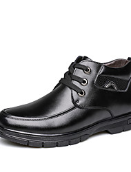 Men's Boots Amir New Style/Leather Casual Low Heel/Warm Shoes / Lace-up Black/Brown/Hot Sales