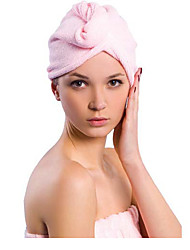 Magic Hair Cap Avoid Blowing Dry Hair Towel Super Absorbent (Random Colours)