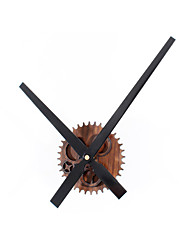 Retro Style Creative Retro Gear Mute Wall Clock