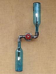 AC 220v-240v 6W Е27 bgb005 деревенский домик / особенность латуни для лампы includedambient света бра стены светло-голубой