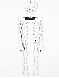 1pc do esqueleto de Halloween Haunted House ornamentos