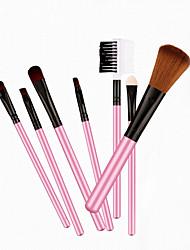 7 Blush Brush / Eyeshadow Brush / Brow Brush / Powder Brush Horse / Synthetic Hair Professional / Travel Wood Eye Others