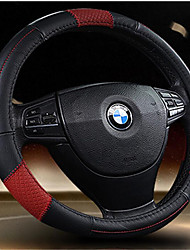 Leather Car Steering Wheel Cover Sets Of Leather