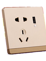 86 USB Power Outlet Panel