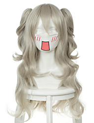Charlotte Charlotte Wyndham Black and white double cauda cosplay wig