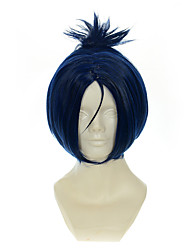 HITMAN REBORN! Rokudou mukuro Ink Blue Mixed Blue Halloween Wigs Synthetic Wigs Costume Wigs