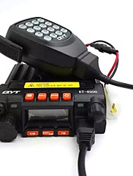 With Fan and Audio Jack 25W Mini Vehicle Mounted QYT KT-8900 CB Radio Dual Band Digital Mobile Car Radio Transceiver