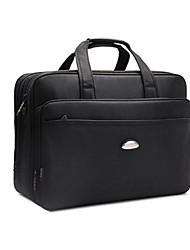 Men Nylon Office & Career Laptop Bag Black