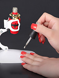 Hot Style Nail Fixed Clamp Hands Free And Comfortable Color Random  1Pcs