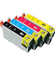 cartucho de impresora (4 color de la venta liado negro rojo 16,5 ml 16,5 ml 16,5 ml 16,5 ml amarillo azul)