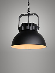 Max 60W Vintage Simple Loft Pendant Lights Metal Dining Room Kitchen Bar Cafe Hallway Balcony Light Fixture