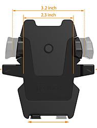 лобовое стекло автомобиля / приборной панели универсальный смартфон держатель Автомобильный держатель для Iphone / Android-черный