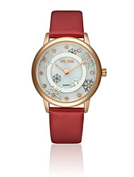 VILAM Women luxury brand quartz watch Fashion Leather watches relogio masculino
