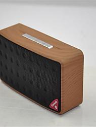 madeira camuflagem orador nova moda do bluetooth mini-carro de áudio portátil