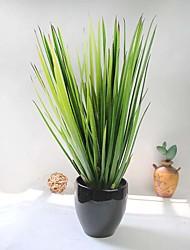 """1 Branch 1 Ramo Gel Silica Plantas Flor de Mesa Flores artificiais Total Length:21"""""""