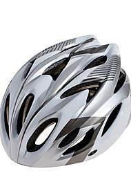 Capacete(Vermelho / Cinzento / Azul,PC / EPS) -Montanha / Estrada-Unisexo 15 AberturasCiclismo / Ciclismo de Montanha / Ciclismo de