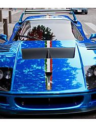 carro toda a decoração do corpo de carro galvanoplastia de materiais importados para criar azul pasta de filme de esportes