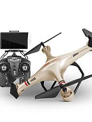 Drone Udi R / C 350HW 4CH 6 Eixos 2.4G Com Câmera HD Quadcóptero RCFPV / Iluminação De LED / Retorno Com 1 Botão / Auto-Decolagem / Vôo
