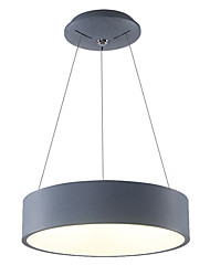 60cm 36W Modern Style Simplicity Round LED pendant lights Metal Living Room / Bedroom / Dining Room
