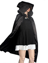 Cosplay Costumes Movie/TV Theme Costumes Movie Cosplay Black Solid Cloak Halloween Unisex Linen