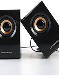 USB2.0 Laptop Small Audio Wooden Subwoofer Car Audio