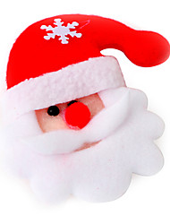 Christmas Decorations Holiday Supplies New Year / Christmas / Halloween Solid Textile