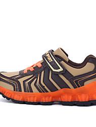 Girl's Sneakers Spring / Fall Comfort PU Casual Flat Heel  Blue / Green / Orange Sneaker