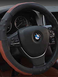 Leather Steering Wheel Cover Set For Summer Car