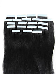 16-18inch white Blonde Tape in Brazilian Natural Human Hair Seamless Glue in Extensions Beauty Skin Weft 20pcs